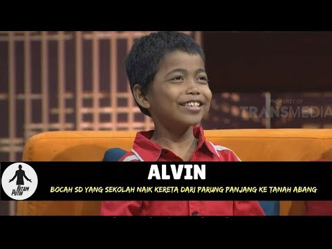 ALVIN, SEKOLAH NAIK KERETA DARI PARUNG PANJANG KE TANAH ABANG | HITAM PUTIH (18/04/18) 2-4