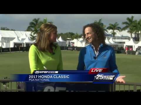 Live interview with Kenny G at the Honda Classic