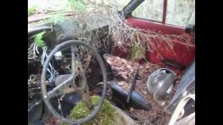 metsä löytö mopedeja,rattoreita ja autoja taivas alta sekä katon alta  2013