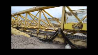 Meadow Lake Mechanical Pulp Mill Crane