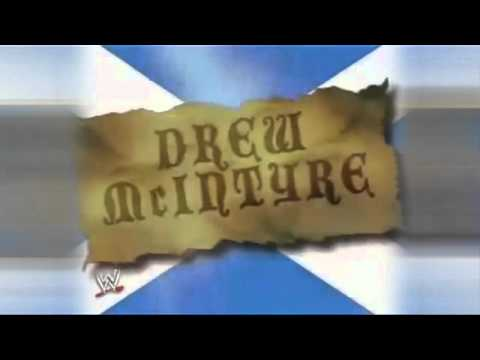 2007 : Drew McIntyre 1st Titantron (HD)