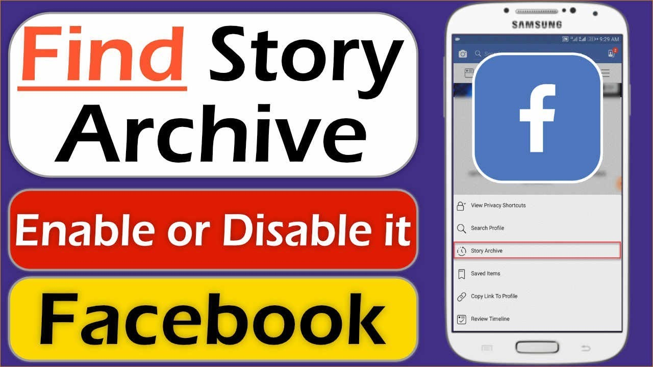 How to Find Story Archive on Facebook - How to Enable & Disable Story  Archive