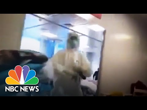 See Inside COVID-19 Hospital, Filmed By Wuhan Resident, Later Confronted By Police | NBC News