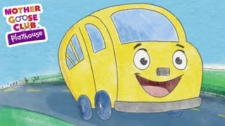 Repeat youtube video The Wheels on the Bus | Mother Goose Club Playhouse Kids Song
