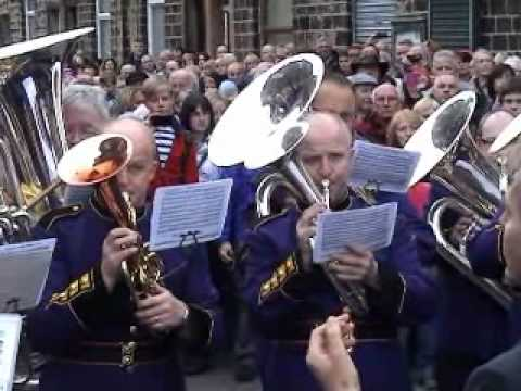 2011 Brighouse & Rastrick pay tribute to Alan Chamberlain at Greenfield Whitfriday Band Contest