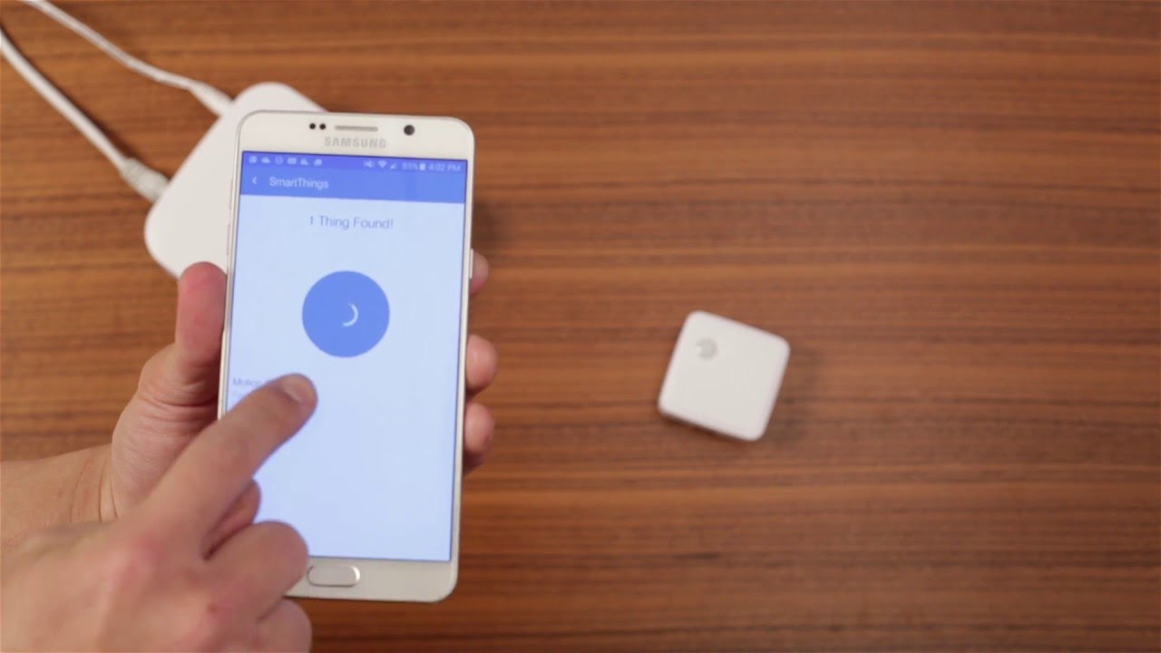 How to Connect the Samsung SmartThings Motion Sensor