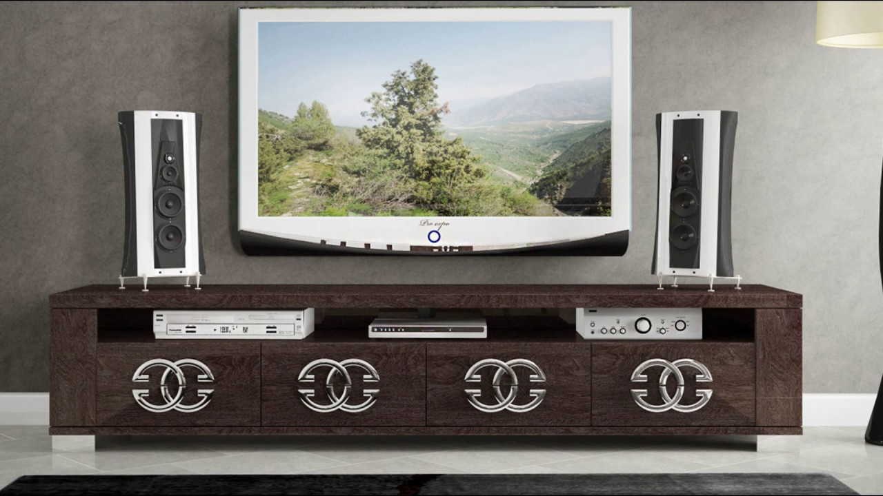 Tv Stand Modern Designs : Stylish tv stand designs for contemporary bedroom youtube