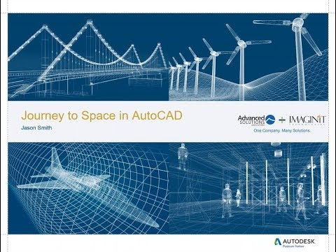 Journey to Space in AutoCAD
