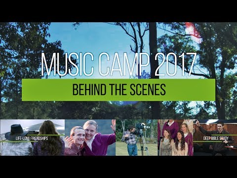 Behind the Scenes at Music Camp 2017