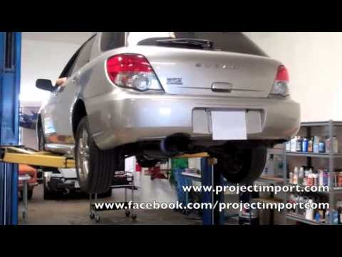 Project Import: Perrin Performance Subaru 05 WRX Stealth Catback Exhaust