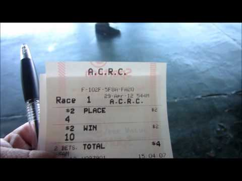 A MIDGET'S DAY (CHUCK LOVE) at the RACE TRACK