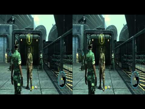 Exclusive Avatar (game) opening Gameplay Stereoscopic Side-by-Side 3D