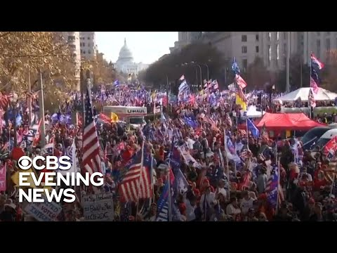 Trump supporters rally in Washington to dispute election results