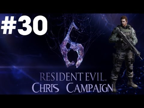 Resident Evil 6 - Walkthrough - Part 30 - [Chris Campaign] - Canada's Flying