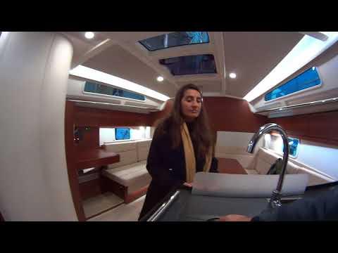 Hanse 388 2017 Sailing Yacht Walkthrough - Athens Boat Show 2017