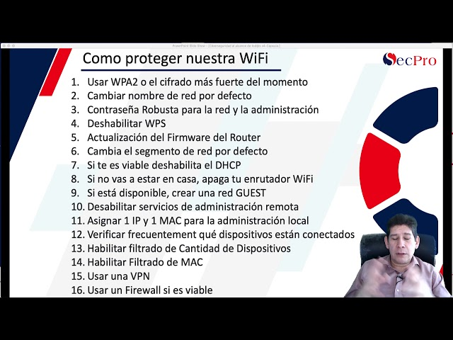 Cómo proteger tu red WiFi - Blinda tu red inalámbrica