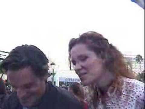 Bart Johnson & Robyn Lively at High School Musical 2 Premier