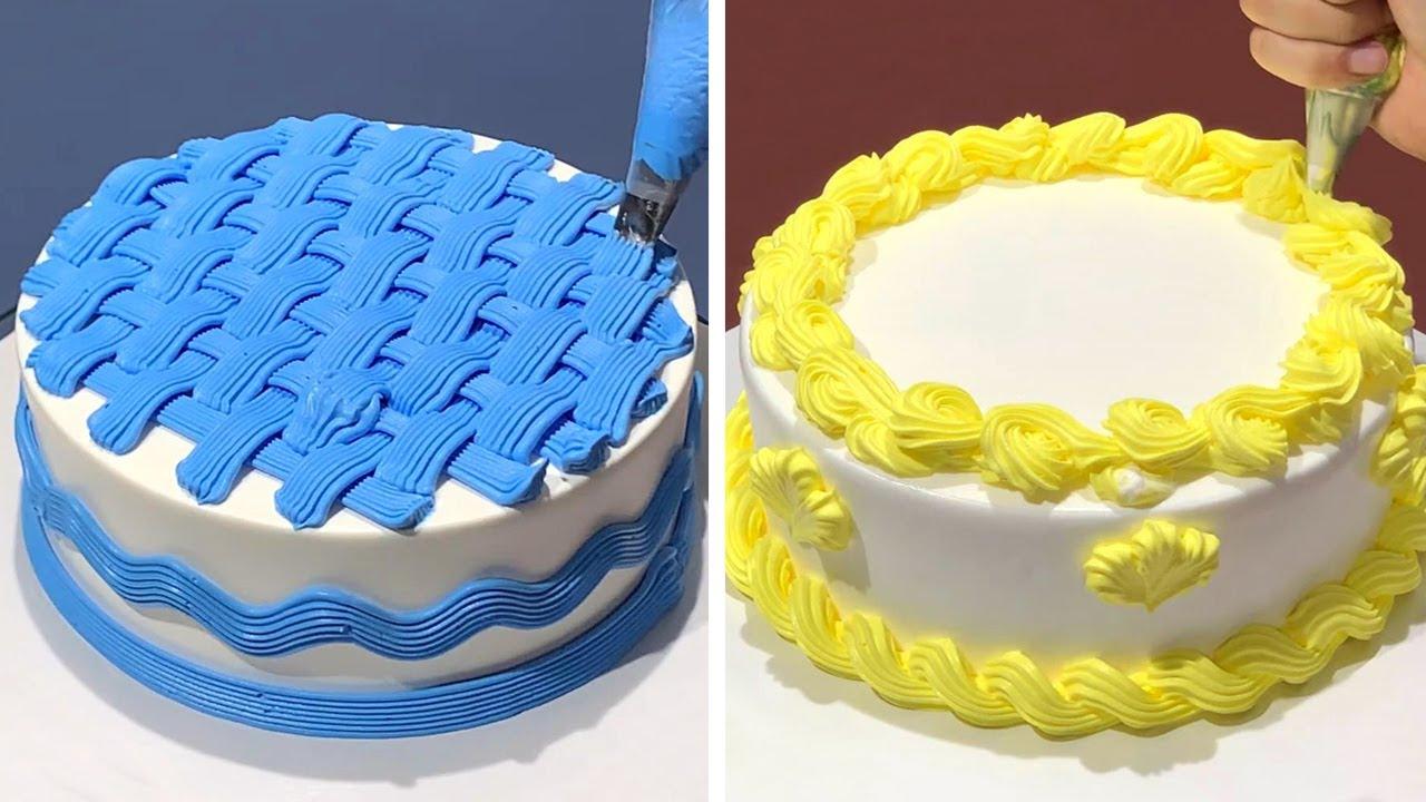10+ Creative Cake Decorating Ideas Like a Pro   Most Satisfying Chocolate Cake Compilation