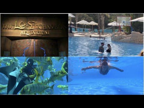 Lost Chambers Aquarium, Atlantis, The Palm, Dubai || GoPro Hero 8 Camera Test