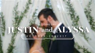 Justin and Alyssa Wedding Highlight Video