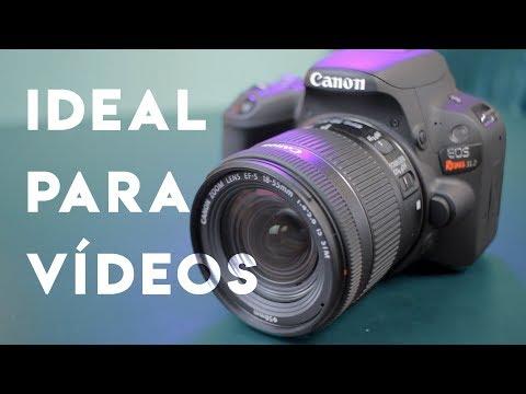 Review Da Canon Rebel SL2 - DSLR Focada Em Vídeos!