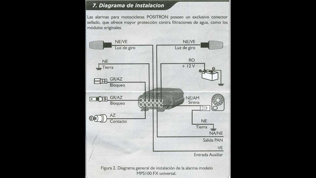 Instalacion Alarma Pst Mps100 En Moto Suzuki Ax 100  Hd