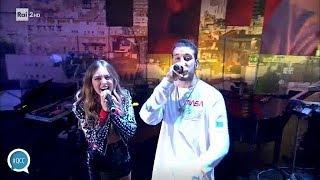 Fred De Palma e Ana Mena cantano 'D'estate non vale' - Quelli che il calcio 07/10/2018