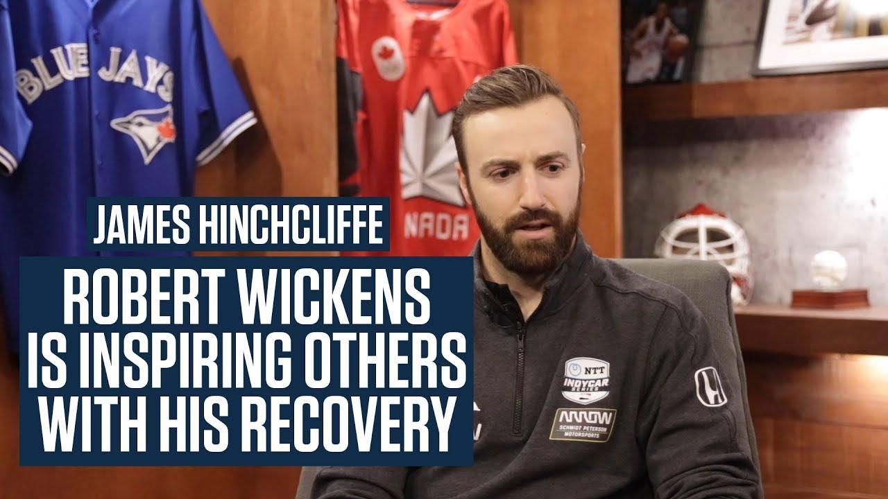James Hinchcliffe Dreams Of Racing Alongside Robert Wickens Again One Day