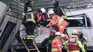 Treno deraglia a Milano, tre morti e cento feriti