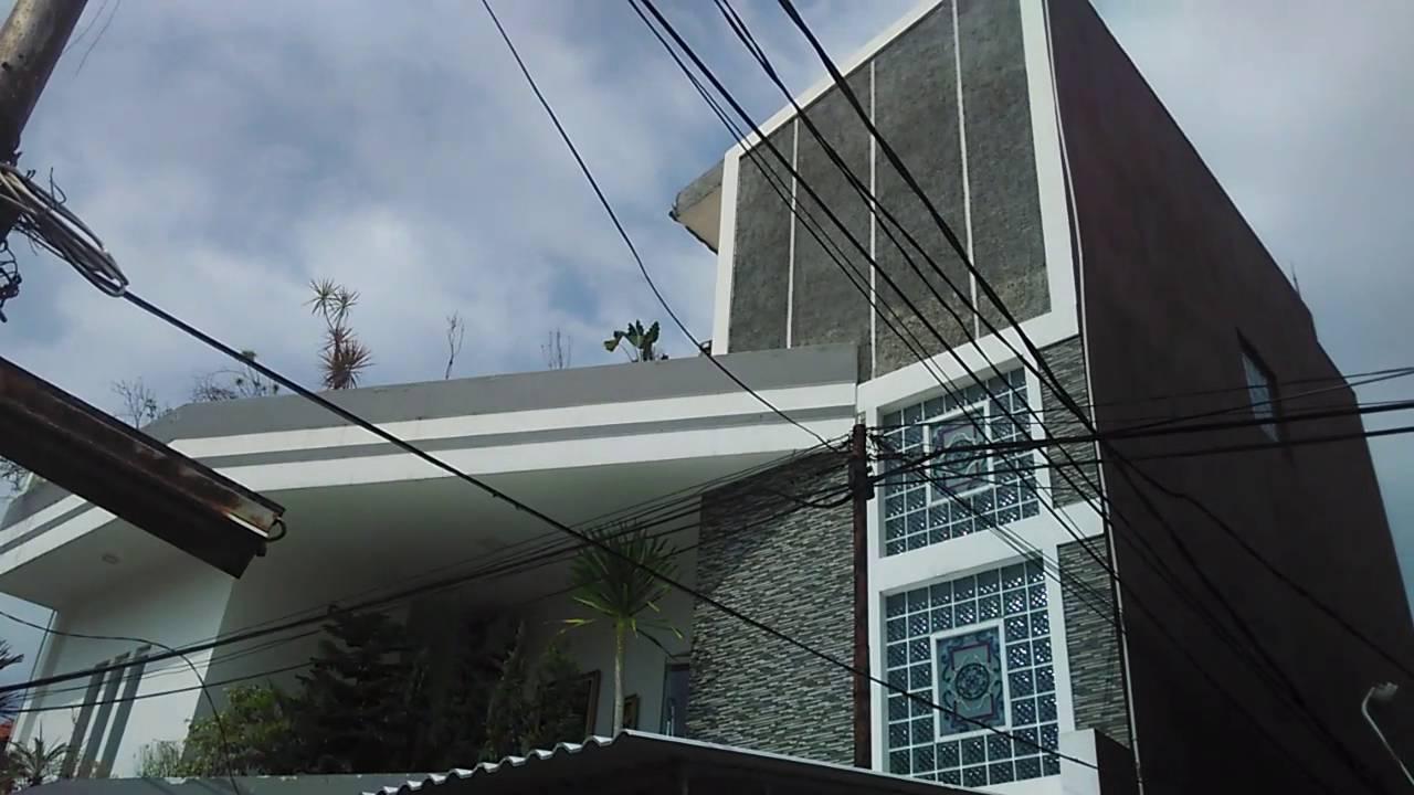 Pemasangan atap rooftop alderon uv pvc dengan rangka