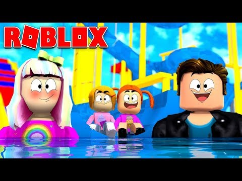 Happy Roblox Family | Going To The Waterpark | Episode 4
