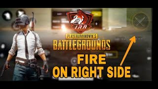 Trying fire button on right side(hindi) | Gameplay #5 | pubg mobile