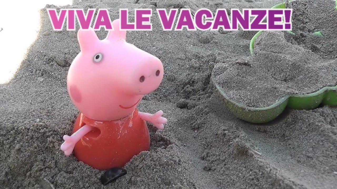Peppa pig in italiano: VIVA LE VACANZE!