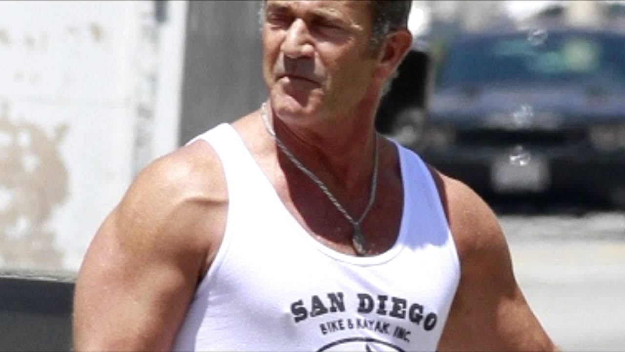 MEL GIBSON (57) is training for EXPENDABLES 3 (2014) and ...