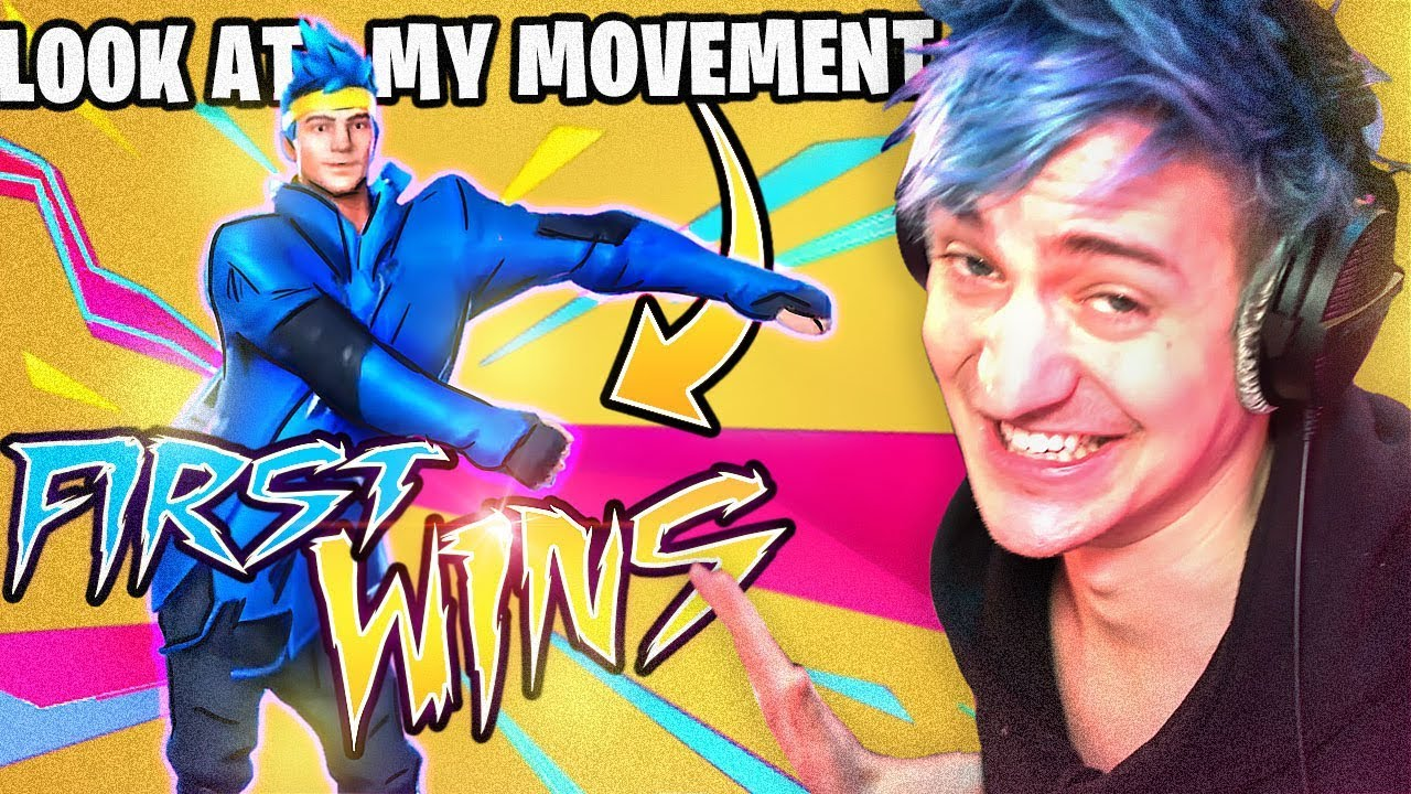 MY FIRST WINS WITH THE NINJA SKIN IN FORTNITE! thumbnail