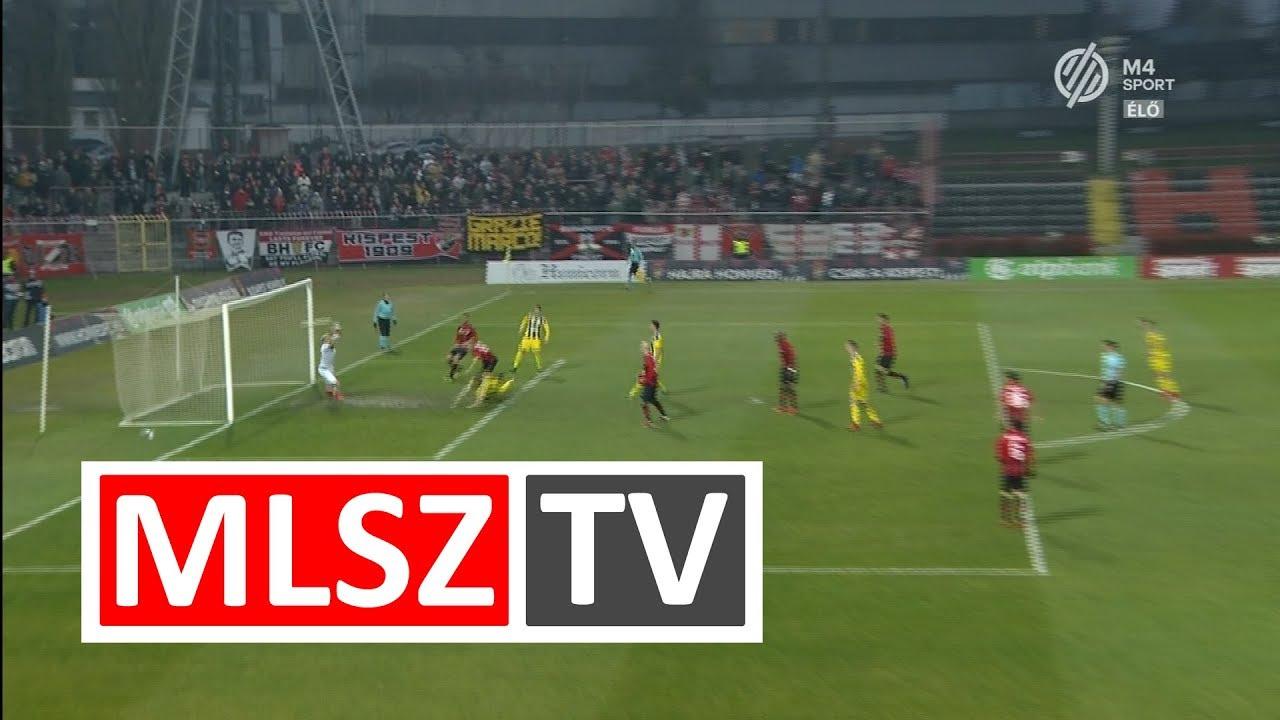Novák Csanád Ákos gólja a Budapest Honvéd - Mezőkövesd Zsóry FC mérkőzésen