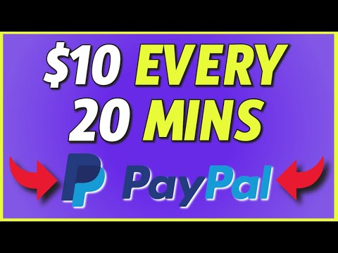 Earn FREE PayPal Money 2021 (Make $10 Every 20 Minutes)