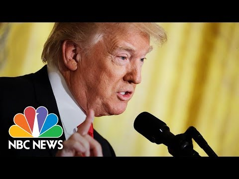 President Donald Trump Holds Joint News Conference With Baltic Leaders | NBC News
