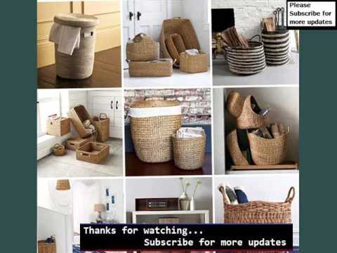 Woven Basket And Wicker Basket Ideas | Wicker Storage Baskets Designs