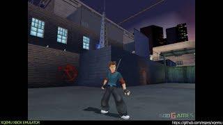 XQEMU Xbox Emulator - Carmen Sandiego The Secret of the Stolen Drums Ingame - realtime! (5cf8131)