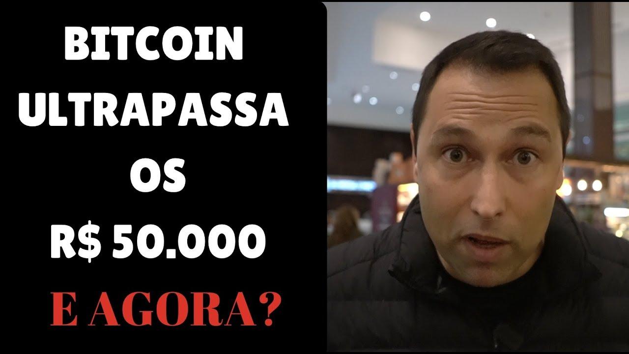 URGENTE BITCOIN R$ 50.000 - Comprar ou Vender?