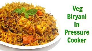 Best Videos of Veg Dum Biryani Recipe in Pressure Cooker