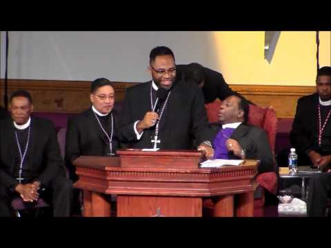 Supt. Braxton Bowser's PRAISE BREAK on Official Night at the 59th Holy Convocation