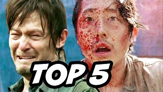 Walking Dead Season 6 Episode 7 - TOP 5 WTF