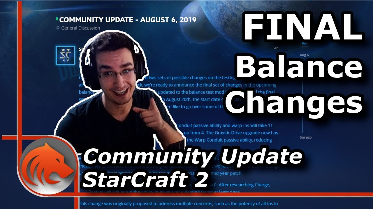 *NEW* Balance Changes Coming to StarCraft Soon!