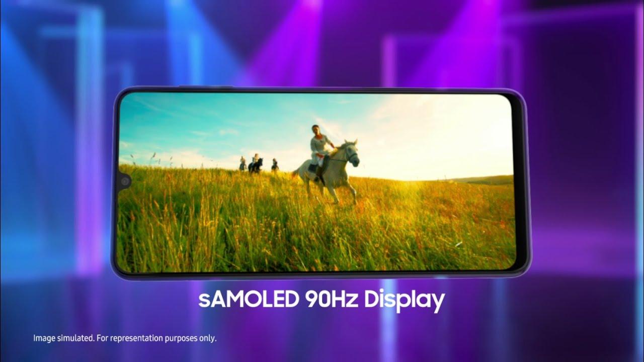 Blockbuster Display with #FullOnBlockbuster Galaxy F22 | Samsung