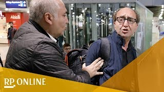 Deutschtürkischer Schriftsteller Akhanli bei Rückkehr in Düsseldorf bedroht
