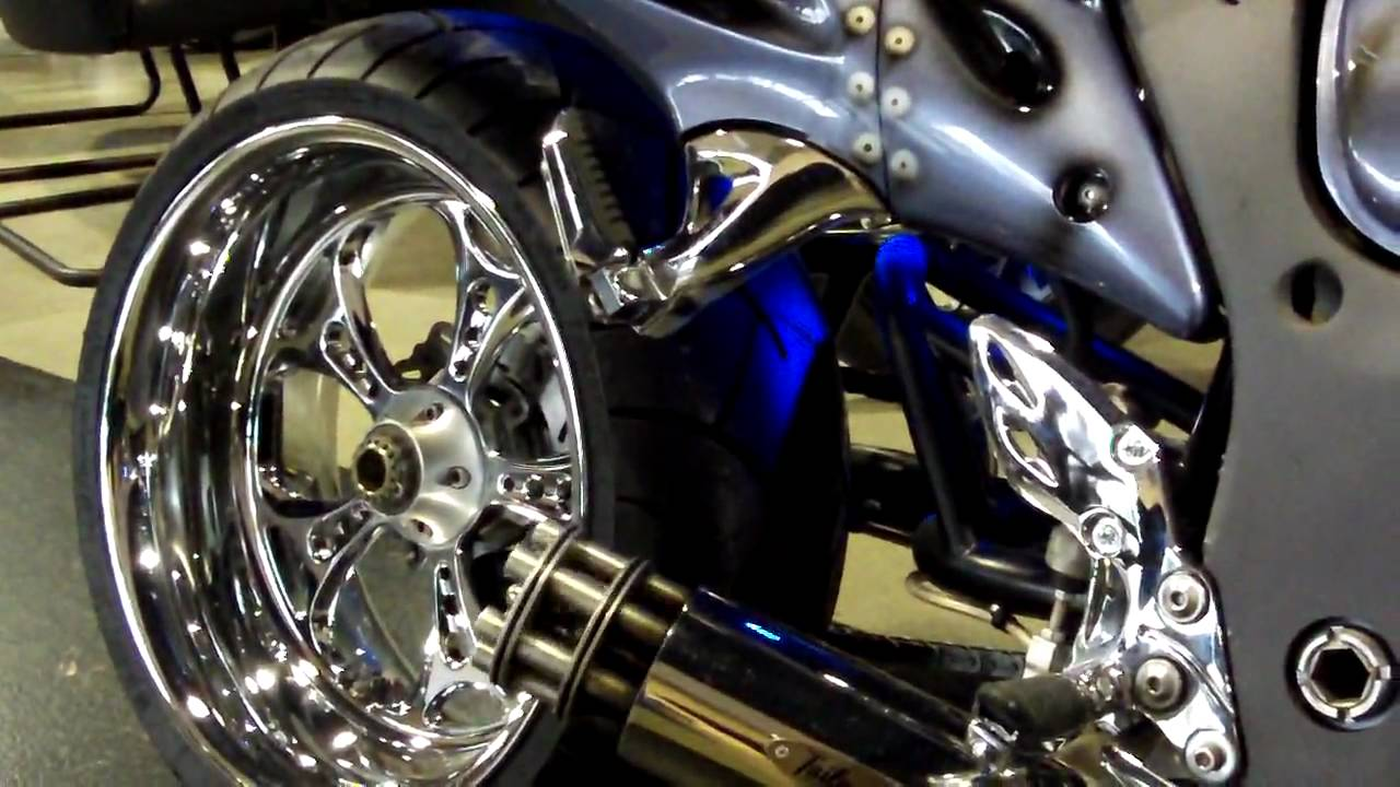 2008 custom hayabusa famous fighter bike nos ss 240mm
