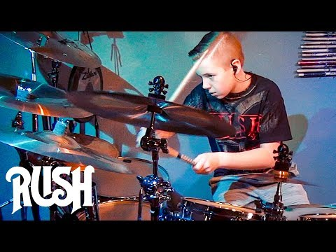 SUBDIVISIONS - RUSH (11 year old Drummer) Drum Cover by Avery Drummer Molek