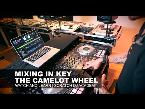 How To Mix In Key W/ The Camelot Wheel | Scratch DJ Academy | Watch And Learn